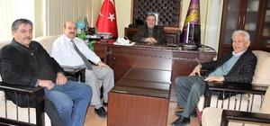 Başkan Konak, meslek odaları ziyaretlerine başladı