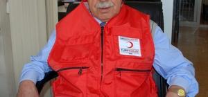 Besni'de Kızılay faaliyetleri hızla devam ediyor