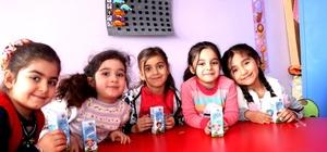 Van'da 'okul sütü' dağıtımı