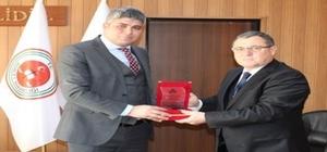 Gümrük ve Ticaret Bölge Müdürü Dara, Doğubayazıt Cumhuriyet Başsavcısı Yılmaz'ı ziyaret etti