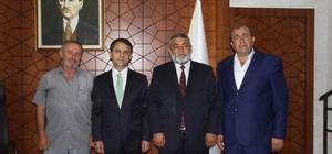 Nevşehirliler Federasyonundan, Vali Aktaş'a ziyaret