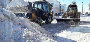 Çat Belediyesi, ilçede karla mücadele seferberliği başlattı