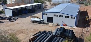 ASAT ilçelerde depolar inşa ediyor