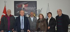 AYÇEP'ten Başkan Özakcan'a ziyaret