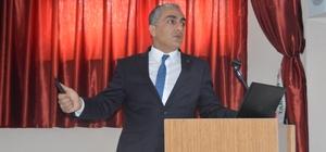 Eleşkirt'te TARSİM bilgilendirme toplantısı