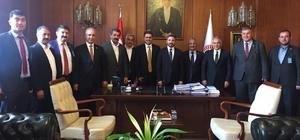 Ziraat odası başkanları milletvekilleri ile tarımı görüştü