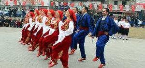 Kahramanmaraş'ta Uluslararası Halk Oyunları gösterisi düzenlendi