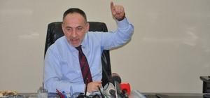 Kentte yaşanan iki günlük su kesintisine ilişkin açıklama yapan başkan Saygılı;