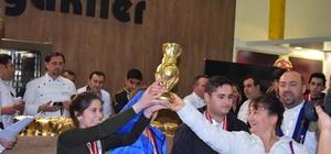 Köyceğizli öğrenciler Uluslararası Altın Kep Aşçılar Yarışmasında 3. oldu