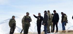 Tunceli Valisinden askeri üs bölgesine ziyaret