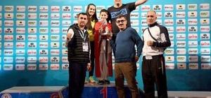 Buca'nın gururu Sarp Mergi, Avrupa şampiyonu oldu