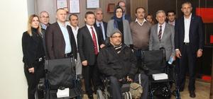 ÇTSO'dan akülü tekerlekli sandalye desteği