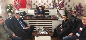 İpekyolu Kaymakamı ve Belediye Başkan Vekili Öztürk'ten kurum ve STK temsilcilerine ziyaret