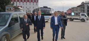 Başkan Keleş ilçe gezilerine başladı