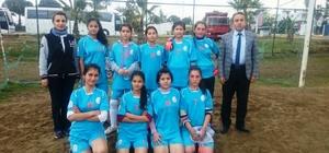 Serik'te Okul Sporları Yıldız Kızlar Futbol ilçe birinciliği yapıldı