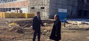 Vali Tapsız, Karaman'da devam eden spor yatırımlarını inceledi