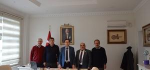 Türk Kızılayı Çifteler Şubesinden Kaymakam Ağca'ya hoş geldin ziyareti
