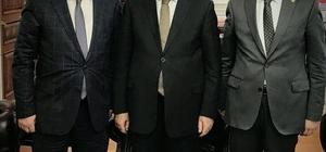 Başkan Toltar, Bakan Bozdağ'ı ziyaret etti