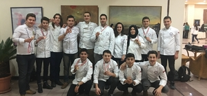 Devrek MYO Aşçılık Programı Öğrencilerinden madalya yağmuru