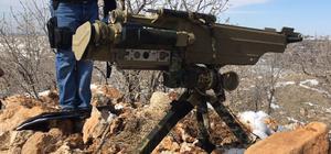 Terör örgütü PKK'ya ait füze ateşleyicisi ele geçirildi