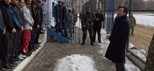 Adilcevaz'da güvenlik korucuları sınavı