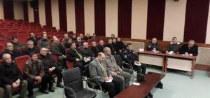 Bolvadin'de güvenlik toplantısı yapıldı