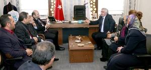 Başkan Orhan'dan il teşkilatına hizmet sunumu