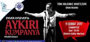 Aykırı Kumpanya Biga Atatürk Kültür Merkezi'nde