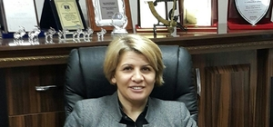 Artvin'in yeni PTT Müdürü Gönül Kocaman görevine başladı