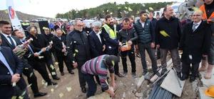 Abdullah Tayyip Olçok Gençlik Merkezi'nin temeli atıldı