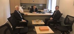 Başkan Yemenici, Şentürk'ü ziyaret etti