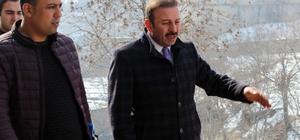 DİSKİ Müdürü Karadağ'dan Belediye Başkanı Çelik'e ziyaret