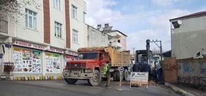 Dilovası'nda iki sokak daha doğalgaza kavuştu