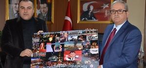 Emniyet Müdürü Öztürk'ten Başkan Erener'e '15 Temmuz' tablosu