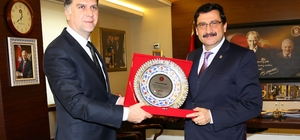 Bosna Hersek Büyükelçisi Dzanko'dan veda ziyareti