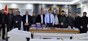 Sur esnafından başkan Özkan'a ziyaret
