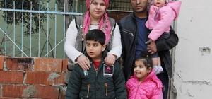 Eşyaları yanan aileye Yunusemre Belediyesi el uzattı