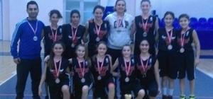 Marmaraereğlisi Belediyesi Spor Kulübü Küçük Kız Basketbol Takımı il ikincisi oldu