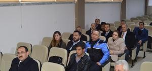 Besni'de hayat boyu öğrenme toplantısı yapıldı