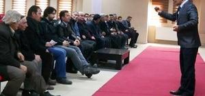 Erciş'te TARSİM bilgilendirme toplantısı