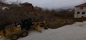 Yukarı Çolaklı Mahallesinde stabilize ve çevre düzenleme çalışması yapıldı