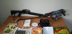 PKK'ya ait 130 bin paket kaçak sigara, silah ve mühimmat ele geçirildi
