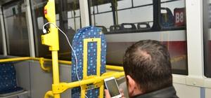 Otobüslerde ücretsiz internet hizmeti başladı