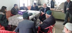 Tosya köylerinde çiftçi eğitimleri devam ediyor