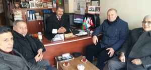 ASİMDER'den Muhtar Akbalık'a ziyaret