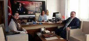 Başkan Akdemir'den bürokrasi ziyaretleri