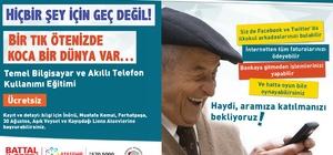 Ataşehir'de herkes öğrenecek
