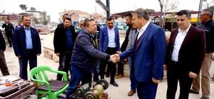 Başkan Çerçi Sarıgöl'de esnaflarla buluştu