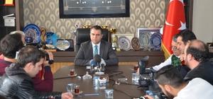 Başkan Aksoy projelerini anlattı