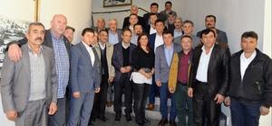 Kuyucak ve Kuşadası mahalle muhtarlarından Başkan Çerçioğlu'na ziyaret